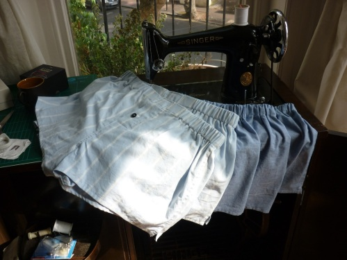boxershorts from old sheets