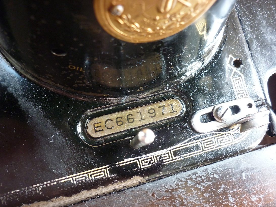 dating singer sewing machines by serial number
