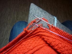 knitting back up