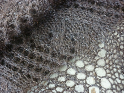 Shetland Lace Shawl for my Mother