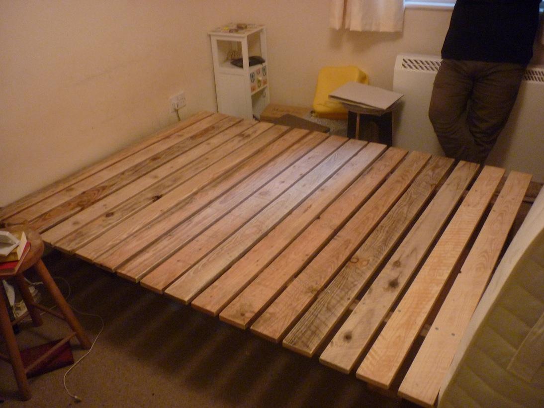 diy japanese platform bed plans