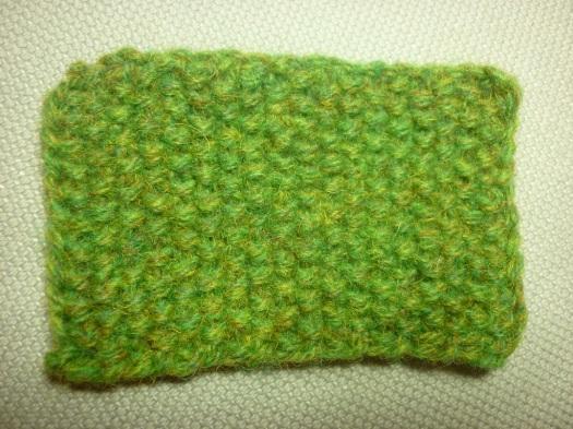 Moss Stitch swatch