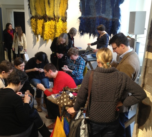 Darning at Wool House, Somerset House