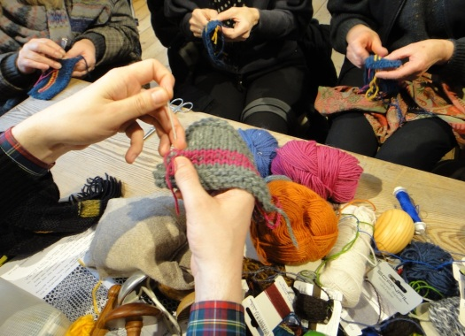 Workshop at Wool House