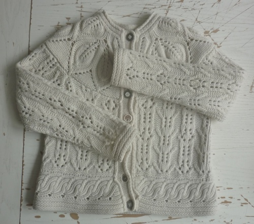 tomofholland Invisible repair of lace cardigan