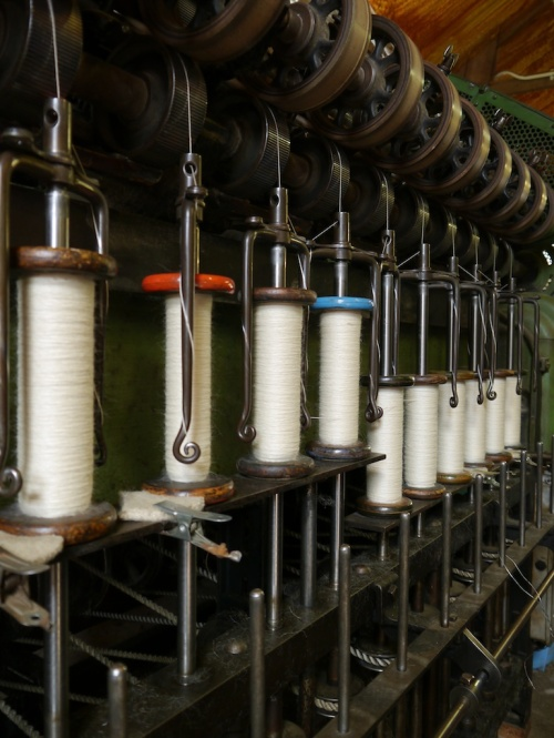 Diamond Fibre Mill spinning