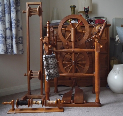 timbertops chair spinning wheel