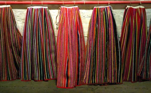 Kihnu Skirts in Estonia