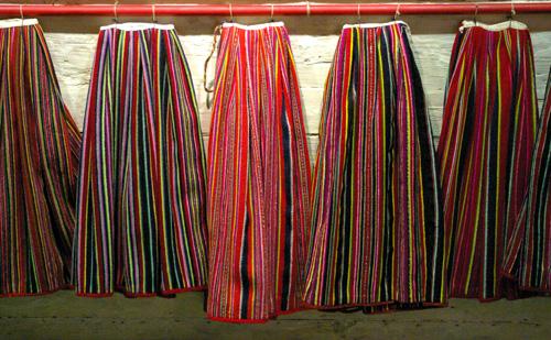 Kihnu Skirts in Estonia