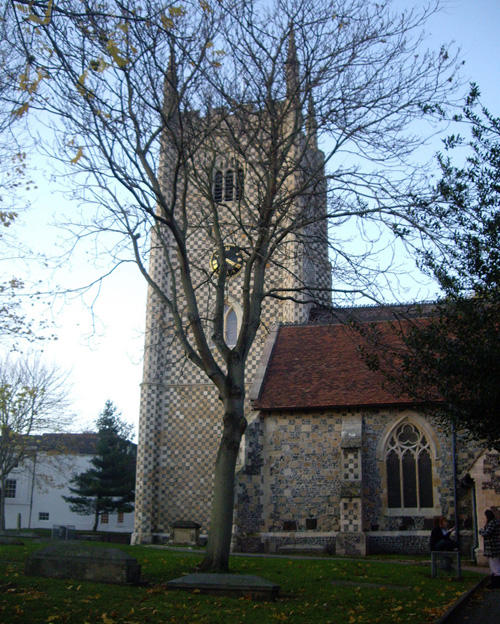St Mary's Butts Curch in Reading