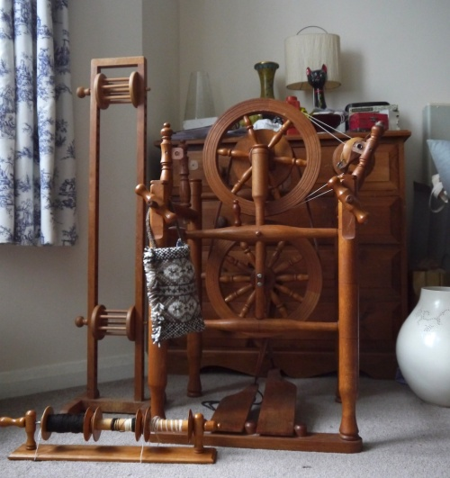 Timbertops Chair Wheel, Skein holder and Lazy Kate