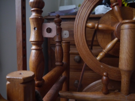 Timbertops Spinning Wheel left mother-of-all