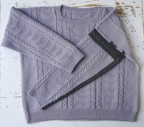 The Visible Mending Programme - repaired jumper