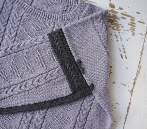 The Visible Mending Programme - Shoulder and Sleeve Detail