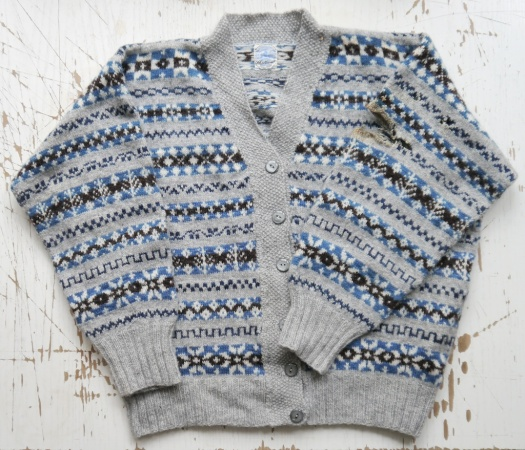 Knitting and Crochet Guild Fair Isle Cardigan