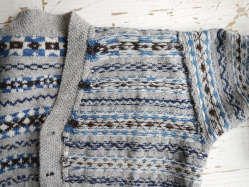 Knitting & Crochet Guild Fair Isle Cardigan construction