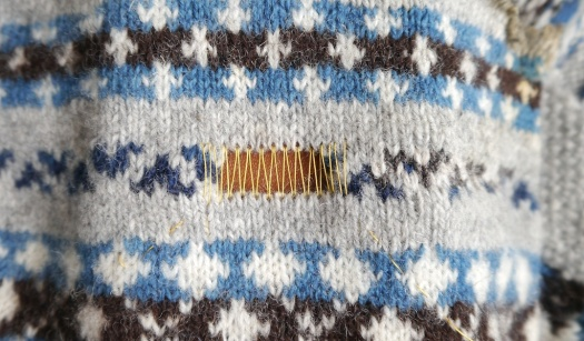 Knitting and Crochet Guild Commission Swiss Darning pt 1