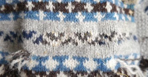 Knitting and Crochet Guild Commission Swiss Darning pt 3