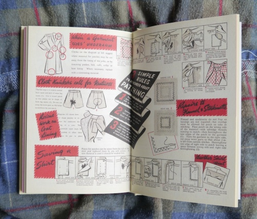 a page from tomofholland's Make Do and Mend book