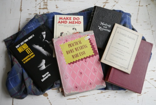 tomofholland collection of mending books