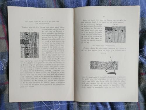 a page from tomofholland's copy of Vrouwelijke Handwerken