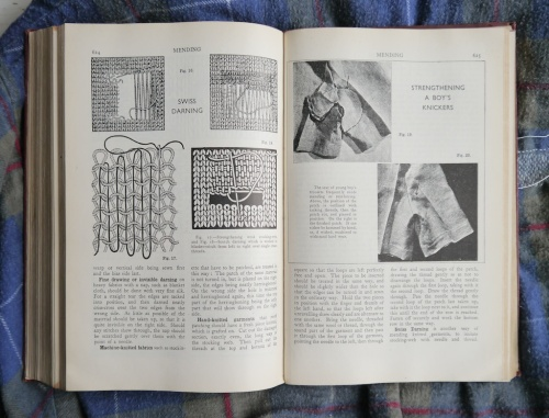 a page from tomofholland's copy of Weldons Encyclopedia of Needlework