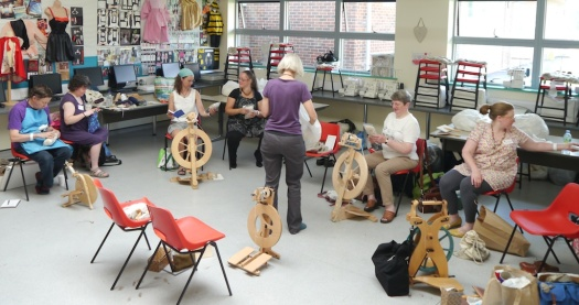 Deb Robson Wool Types Workshop