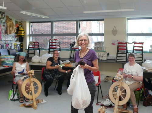 Wool Types workshop with Deb Robson