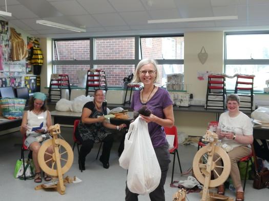 Wool Types workshop with Deb Robson