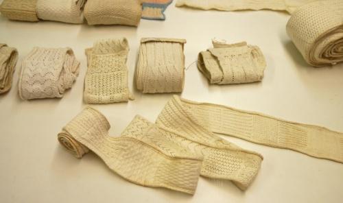 Fries Museum knitting samplers