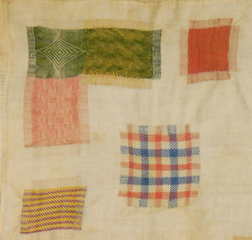 Fries Museum stoplap darning sampler 9