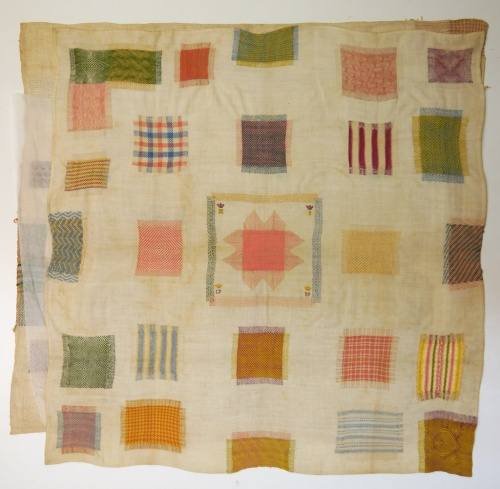 Fries Museum stoplap darning sampler 11