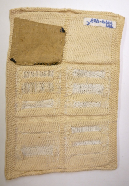 Fries Museum Knitted Darning Sampler 04b