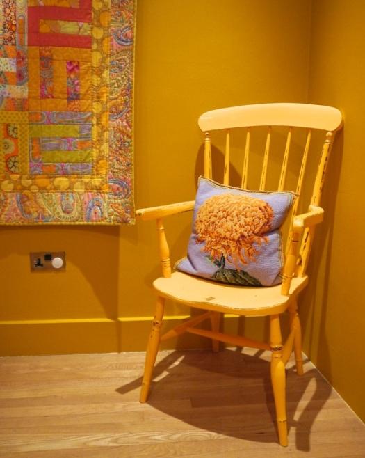 Yellow Chair Kaffe Fassett at American Museum