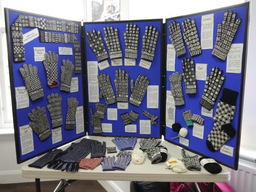 Mary McCormick's Sanquhar Knitting Display