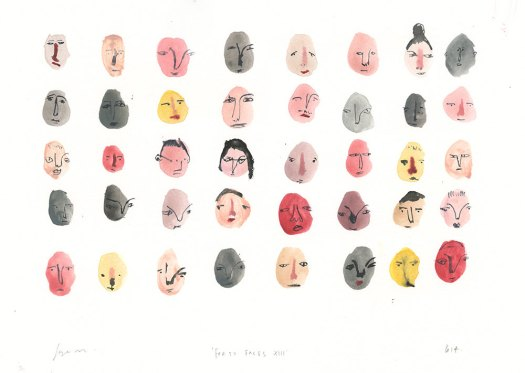 Faye Moorhouse, Forty Faces