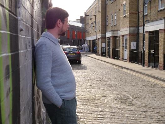brioche sweater side view