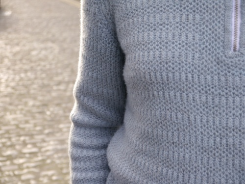 brioche sweater in merino