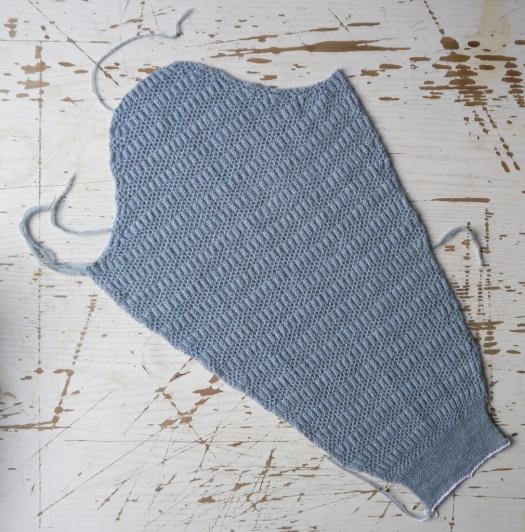 brioche sweater sleeve