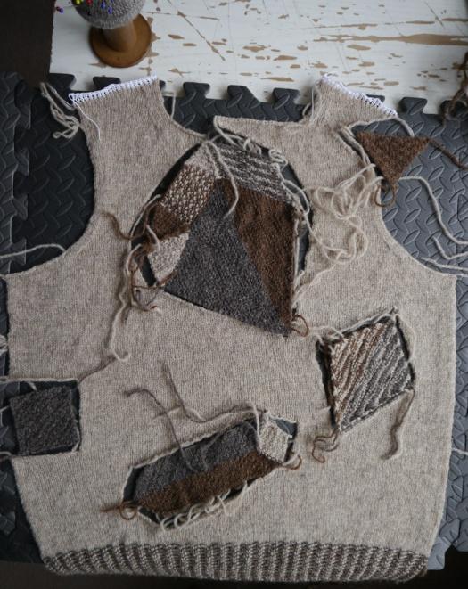 Heraldic Sweater Front Piece Puzzle