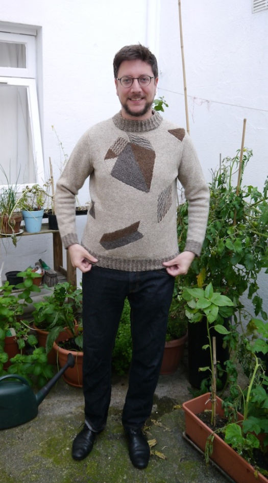 Heraldic Sweater Front View 2