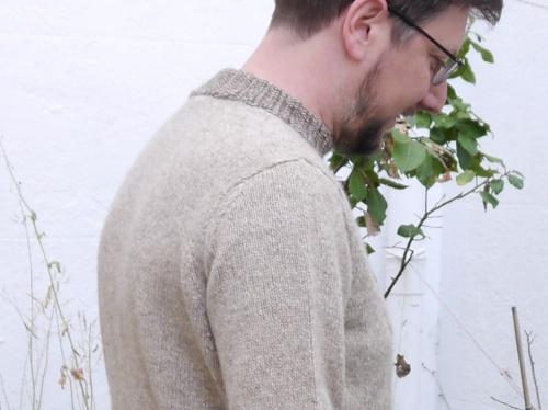 Heraldic Sweater Shoulder