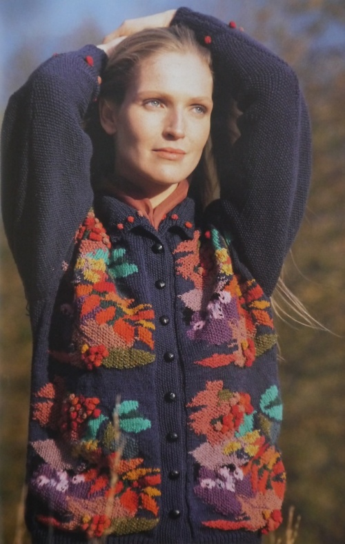Tapestry Sweater, designed by Susan Duckworth