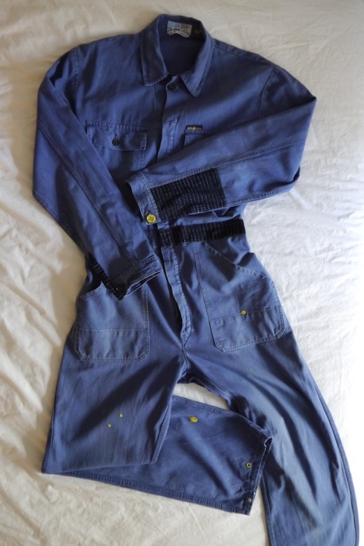 Wolf and Gypsy Visible Mending Programme Overalls After
