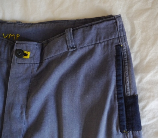 Wolf and Gypsy Trousers VMP Detail