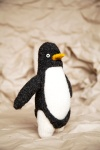 Penguin A Knit Collection, Pinglewin Toy by Anna Maltz