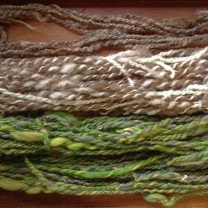 Handspun from Shetland Wool Week 2015
