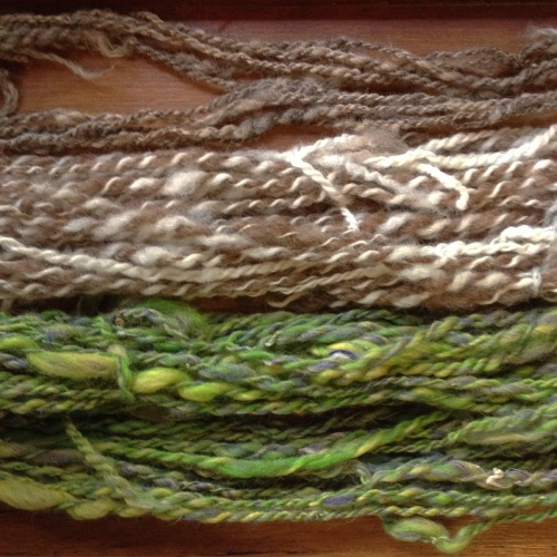 Handspun from Shetland Wool Week 2015