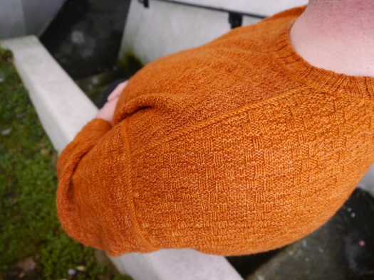 Sequence Sweater Seams in 3-needle bind-off