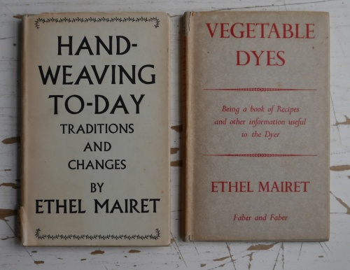 Ethel Mairet, Hand-Weaving today; vegetable dyes